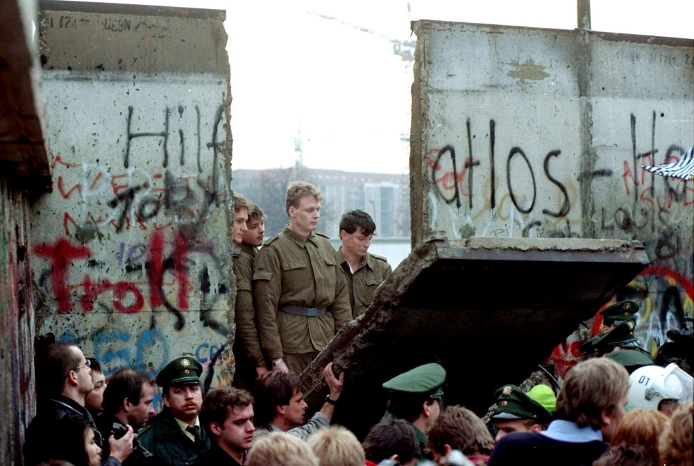 Muro de Berlín 1989