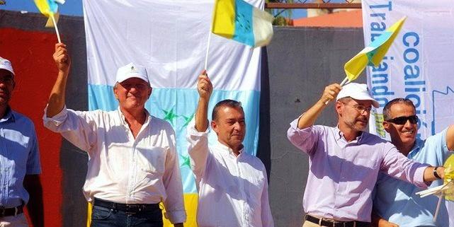 Políticos de Coalición Canaria